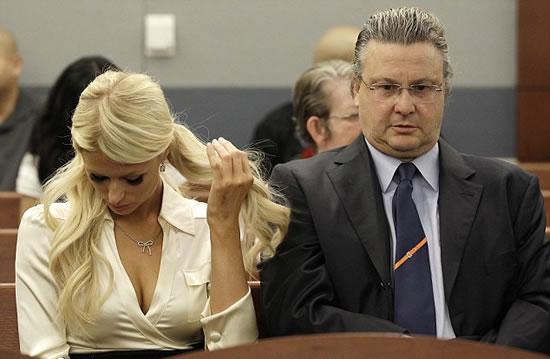 Paris Hilton se declaro culpable de posesion