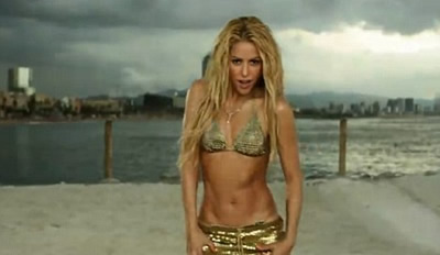 Video Loca de Shakira port
