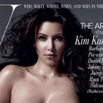 Kim Kardashian desnuda en revista W port