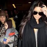 Kim y Kourtney llegan a NY